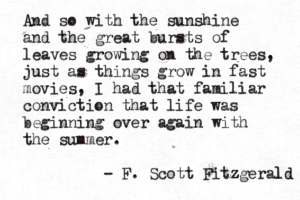 love great gatsby quotes with page numbers