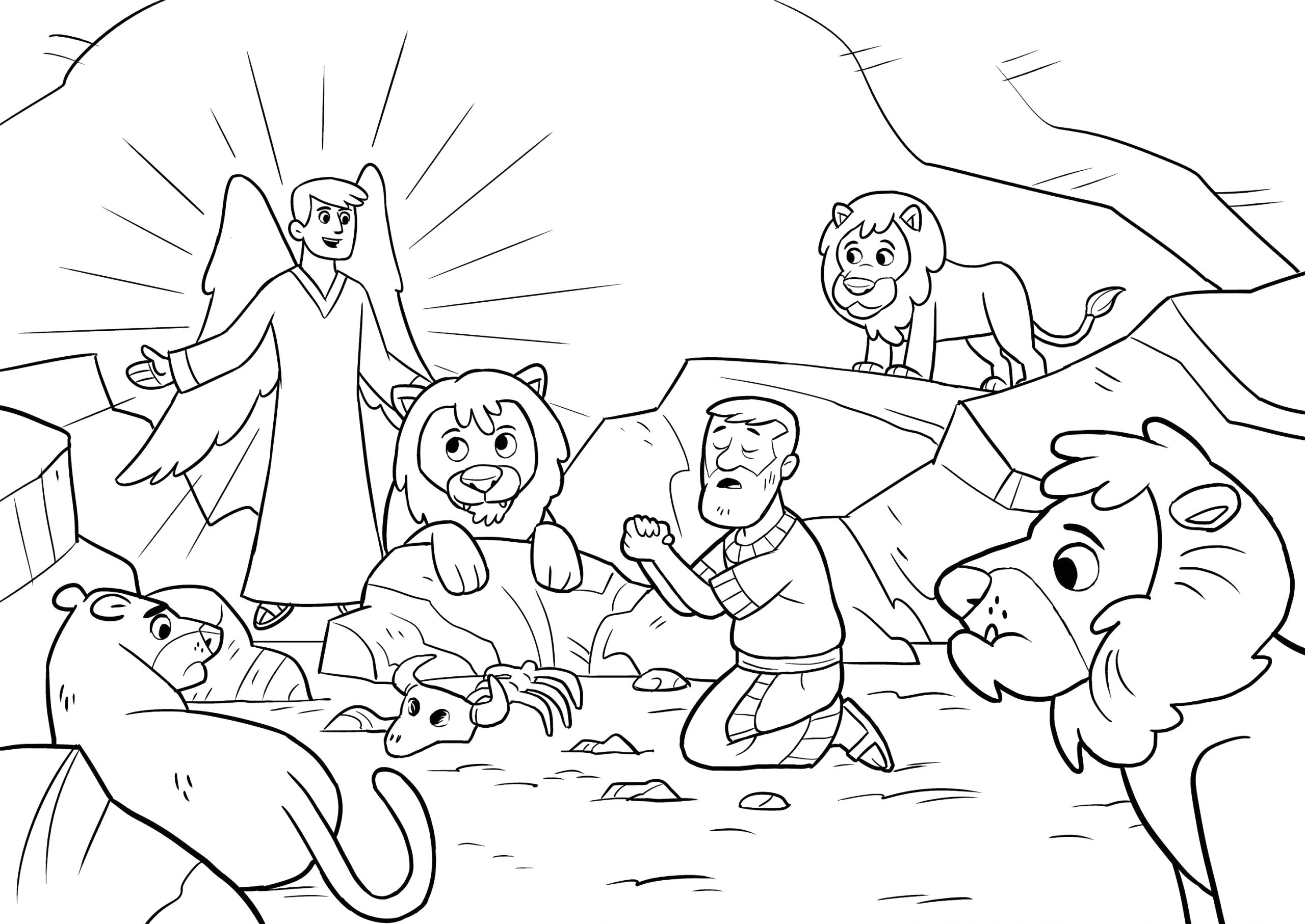 Daniel and the Lions Den Coloring Page Pdf Windows Xp Home Edition Sp3 Product Key Generator