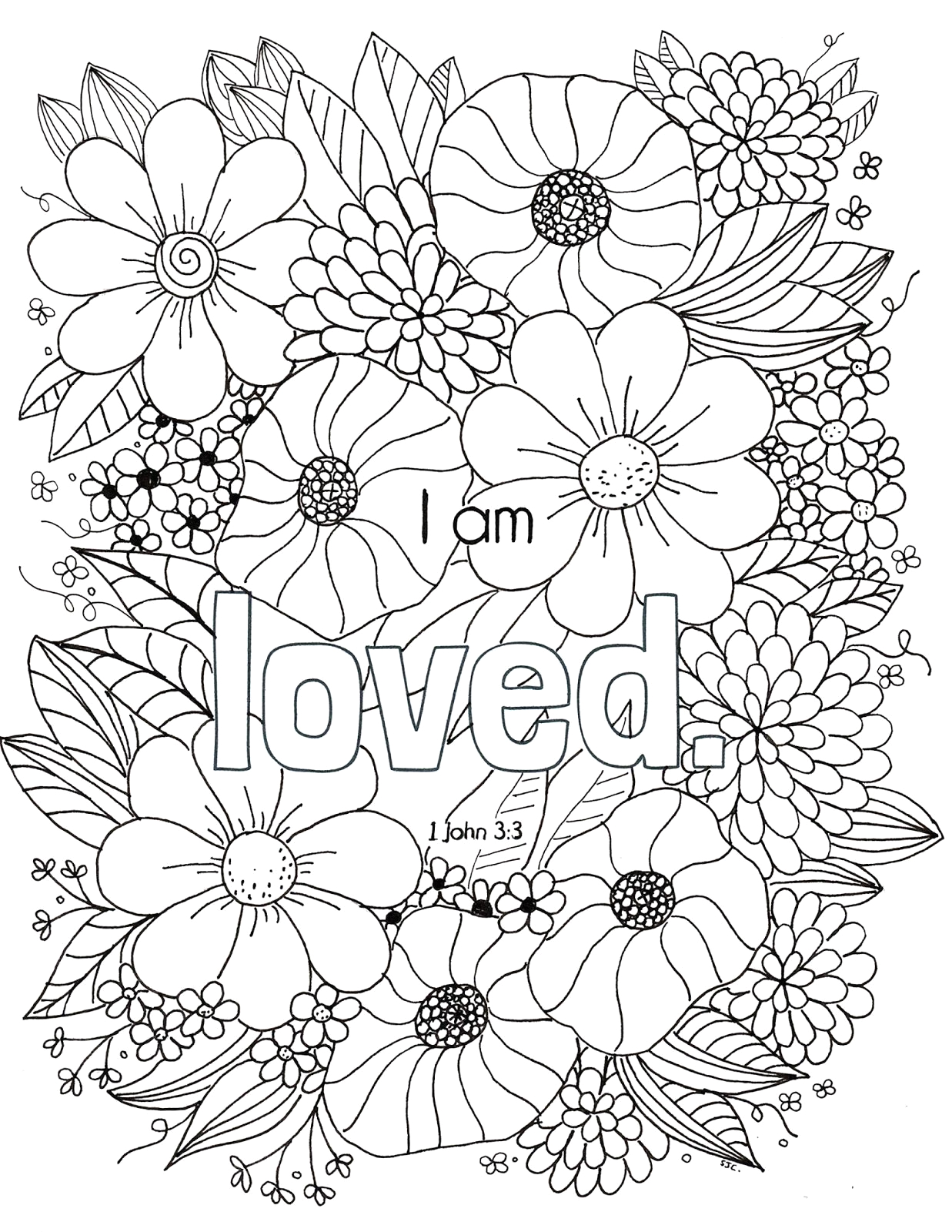 Free Bible Verse Coloring Pages for Adults Free Bible Verse Coloring Page