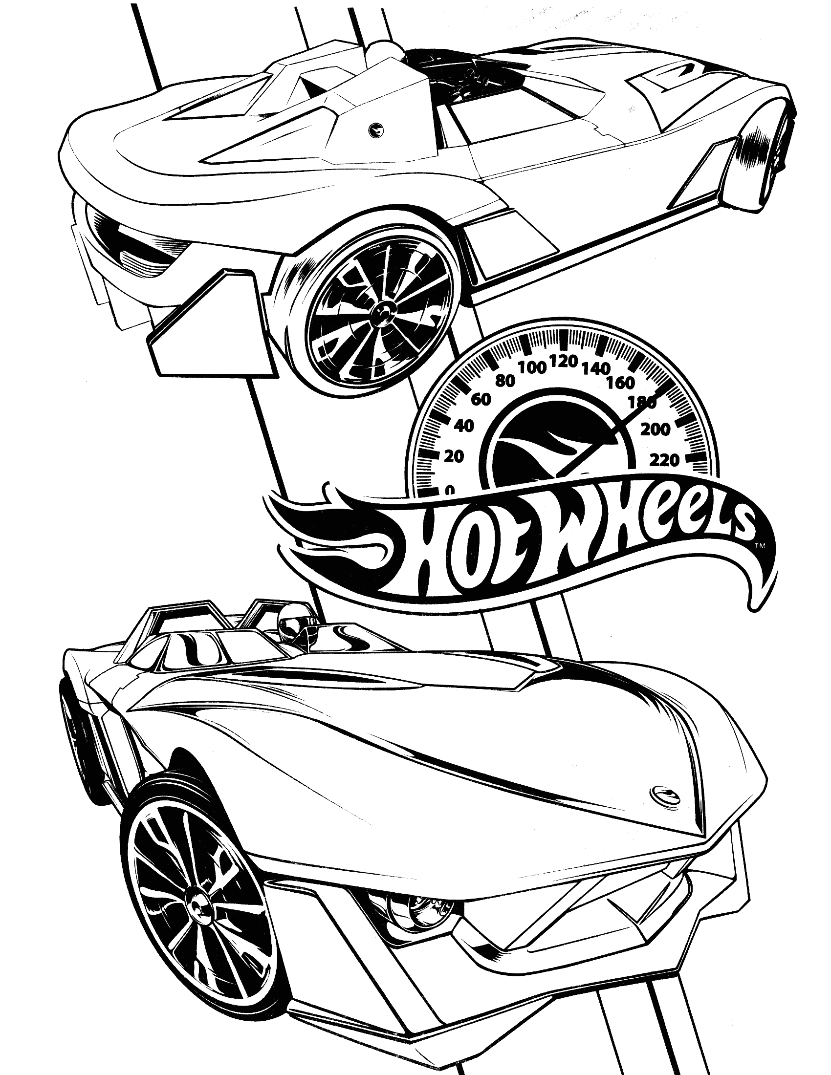 Free Hot Wheels Coloring Pages to Print Free Printable Hot Wheels Coloring Pages for Kids