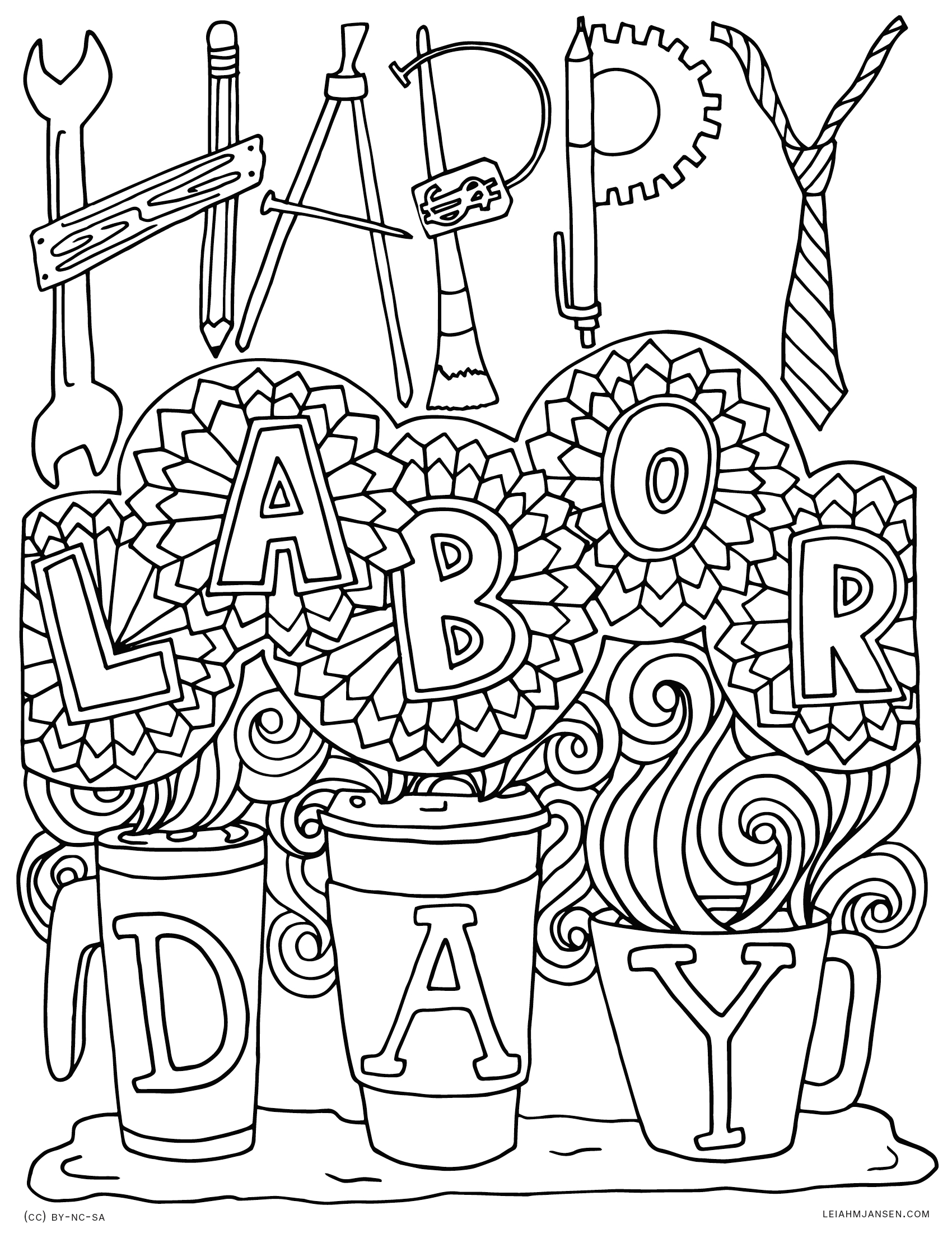 labor day coloring pages image 2525