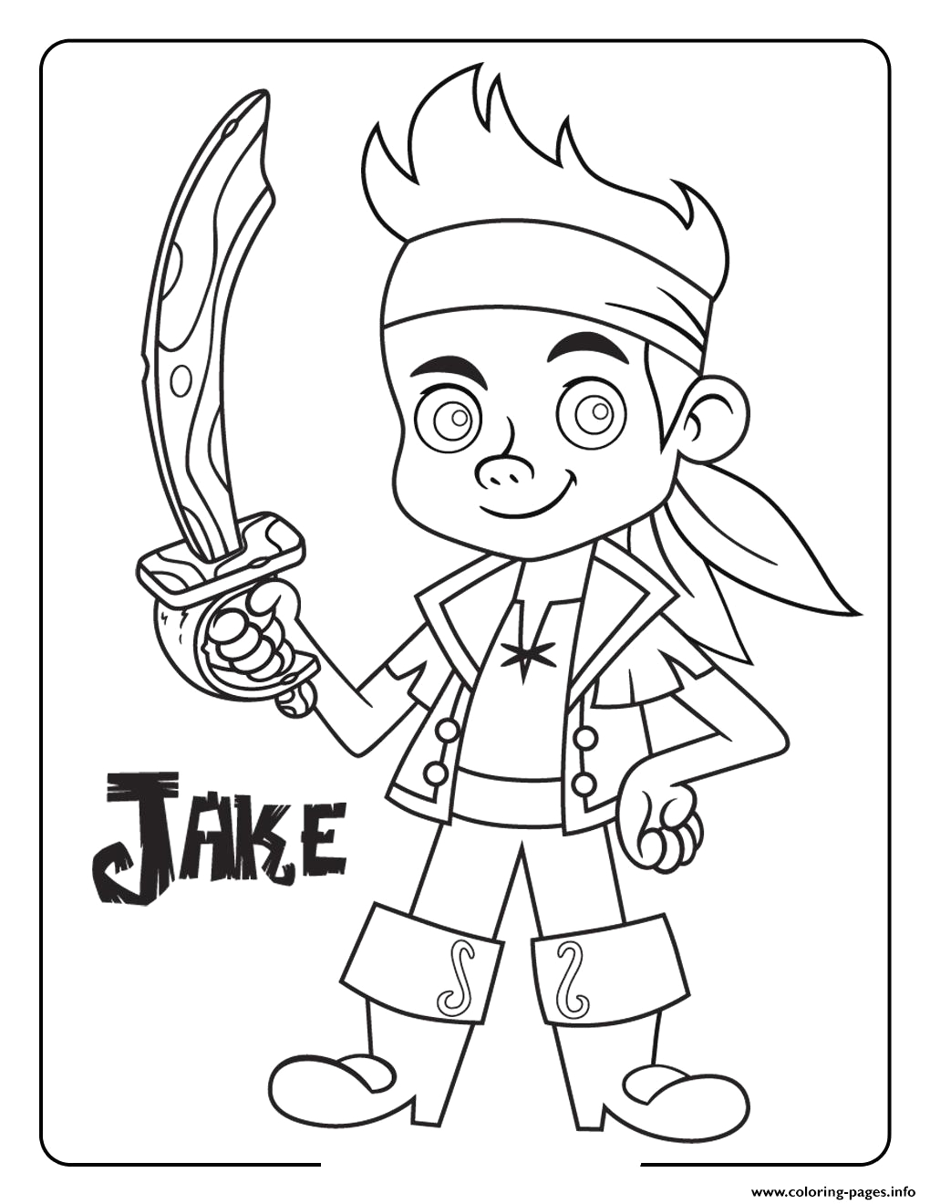 jake and the neverland pirates halloween printable coloring pages book