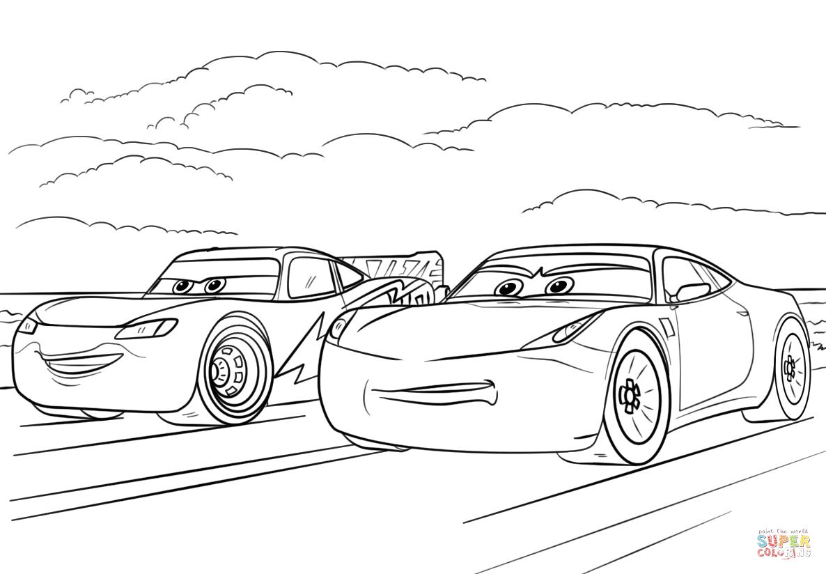 122 jackson storm coloring page