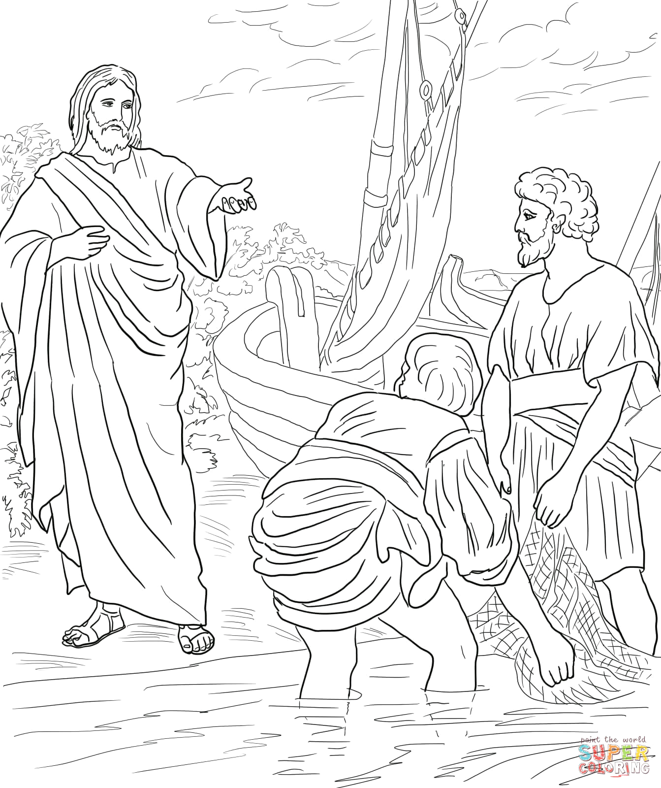 jesus calls the first disciples