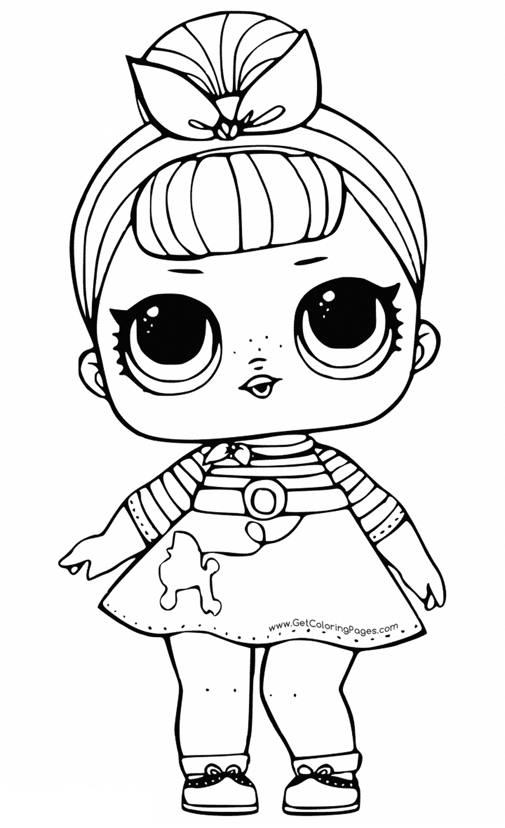 coloring pages of durprise dolls