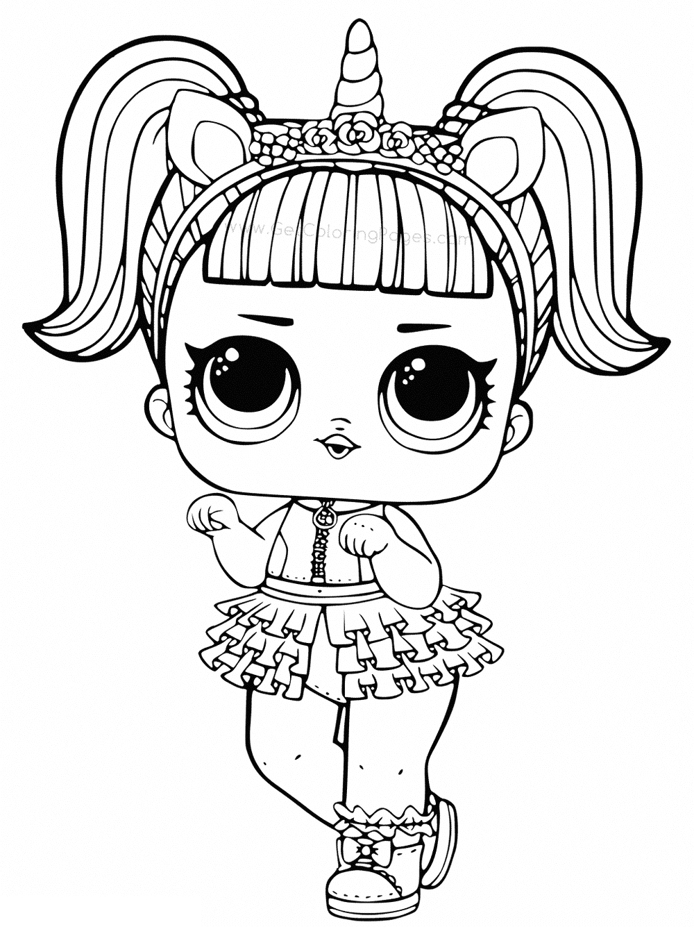 Lol Surprise Coloring Pages Black and White Coloring Pages Of Lol Surprise Dolls 80 Pieces Of Black