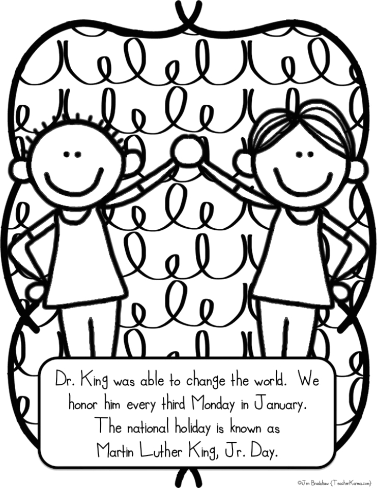online printable martin luther king jr coloring pages rczoz