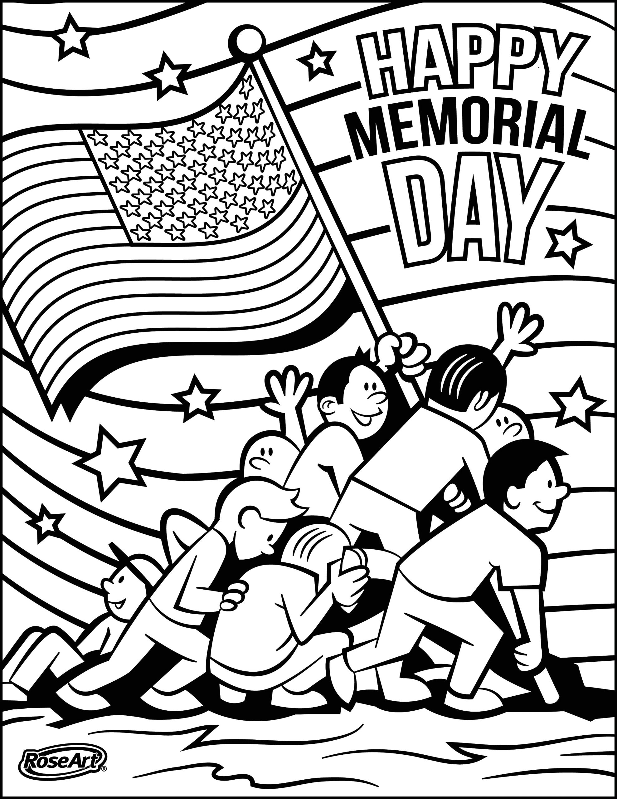 free printable flag coloring pages