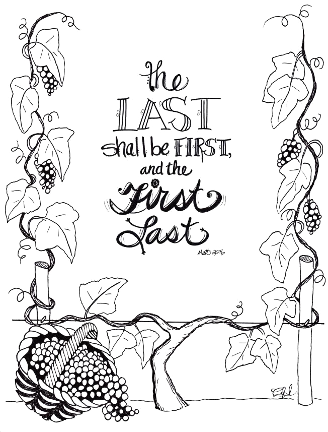 Parable Of the Vineyard Workers Coloring Page the Parable Of the Workers In the Vineyard