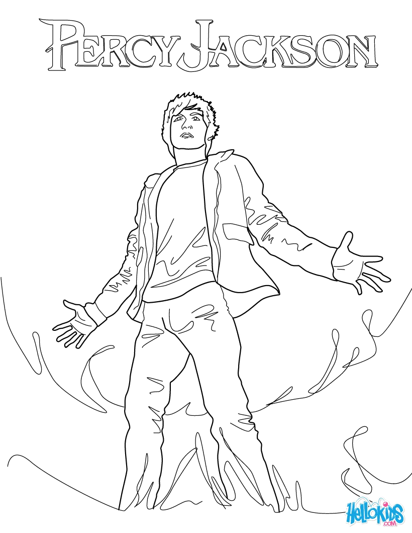 Percy Jackson and the Lightning Thief Coloring Pages the Lightning Thief Coloring Pages Hellokids