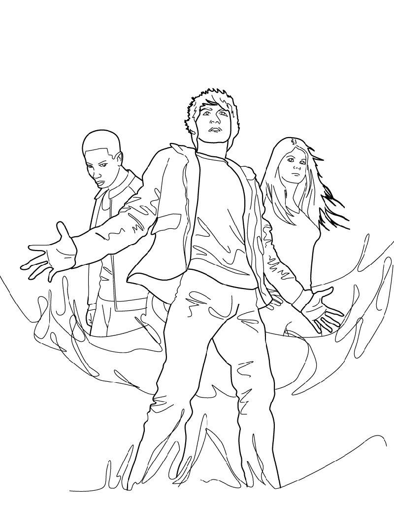 Percy Jackson Sea Of Monsters Coloring Pages Percy Jackson Coloring Pages