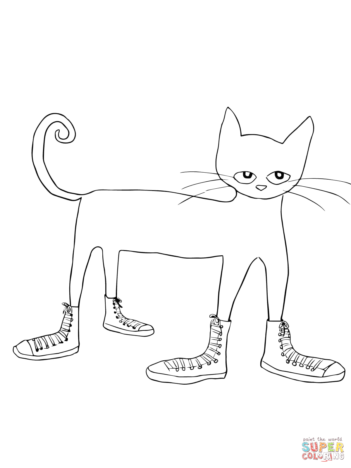 Pete the Cat I Love My White Shoes Coloring Page 301 Moved Permanently