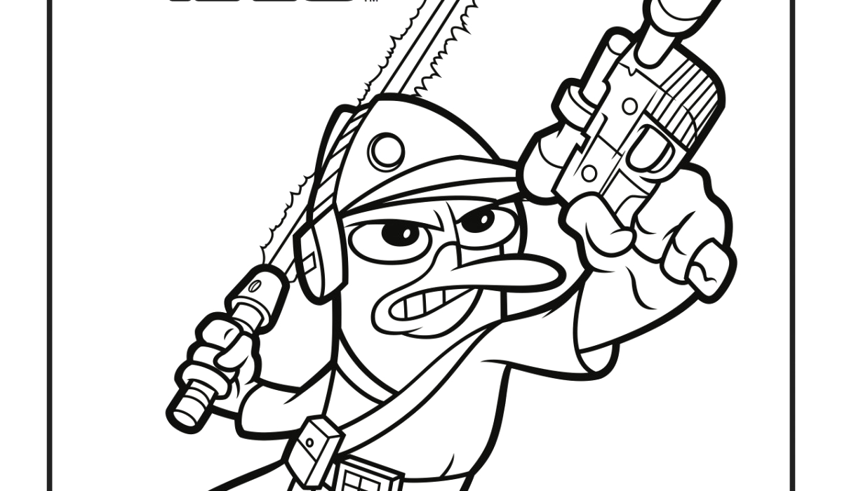 phineas and ferb star wars free activity sheets