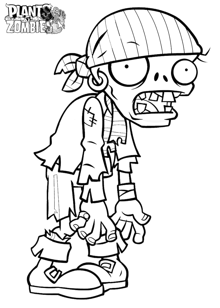 zomboss plants vs zombies coloring pages