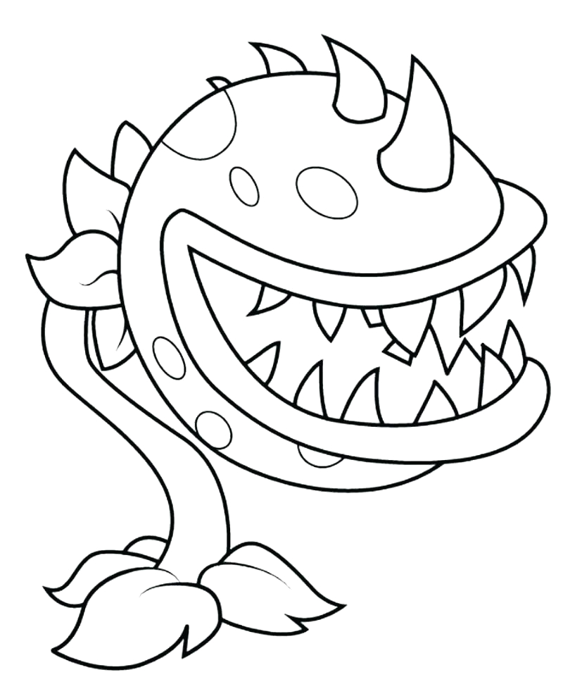 plants vs zombies garden warfare coloring pages