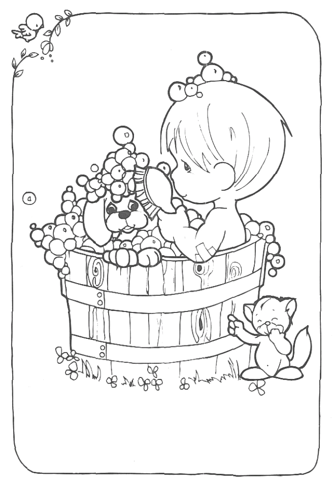 precious moments boy and girl coloring pages 5zhr9