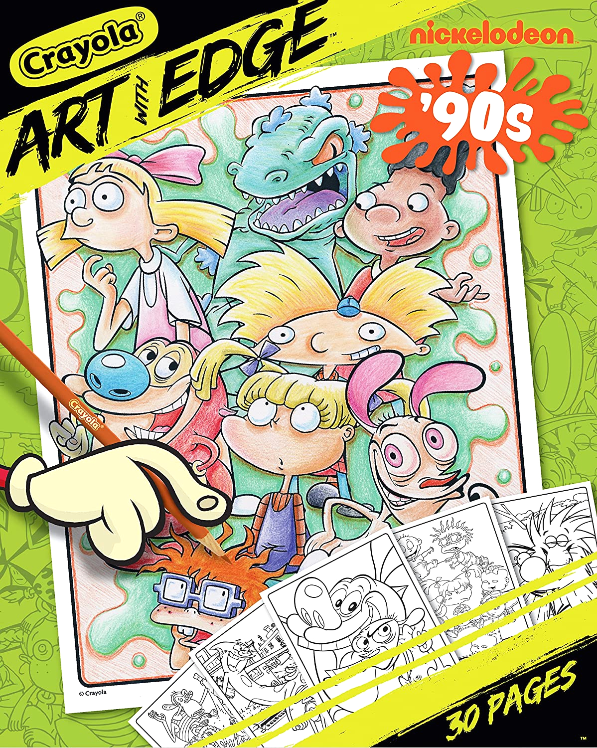 update now only 1 50 crayola art with edge coloring pages for only 2 was 5 50