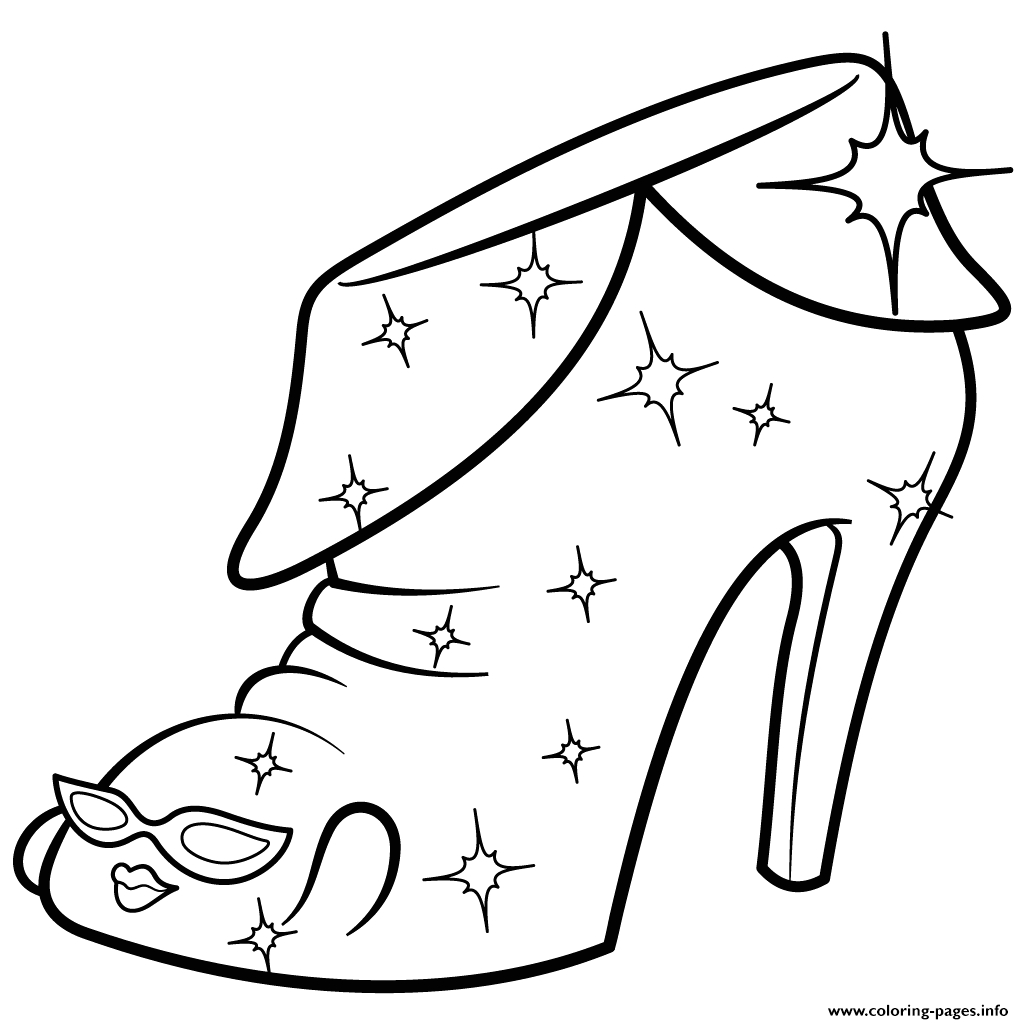 Shopkins Coloring Pages Season 2 Limited Edition Limited Edition Angie Ankle Boot Shopkins Season 2