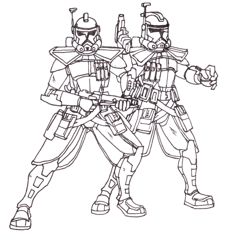 top 8 fierce clone trooper coloring pages star wars lovers