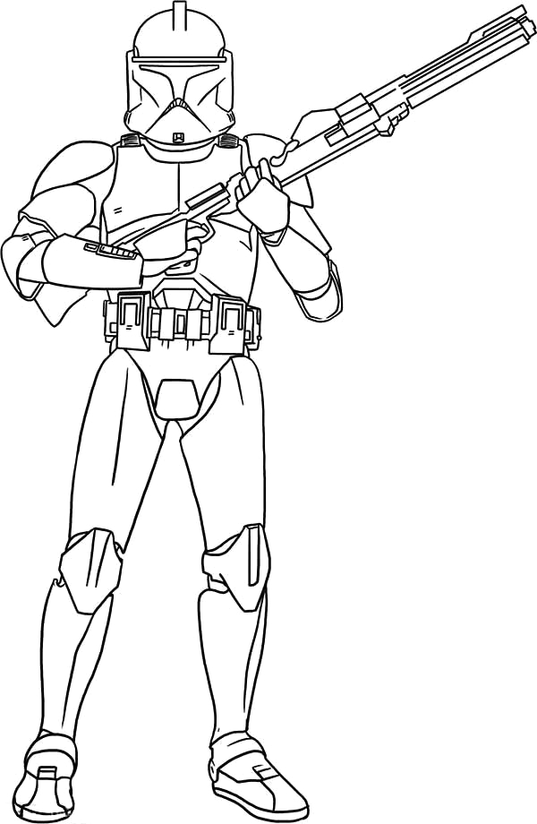 clone wars mander coloring pages