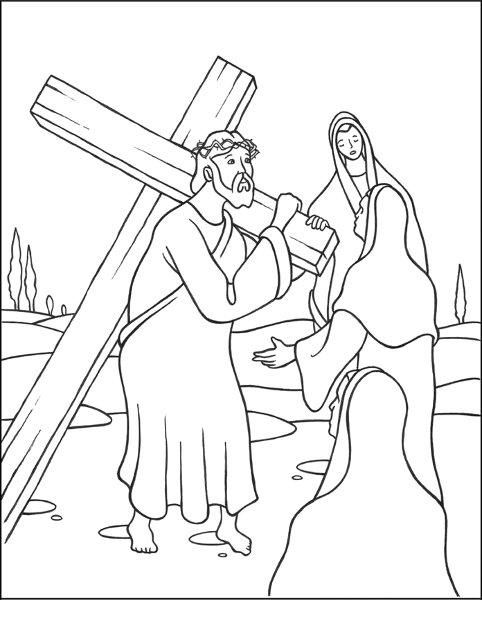 jesus stations of the cross