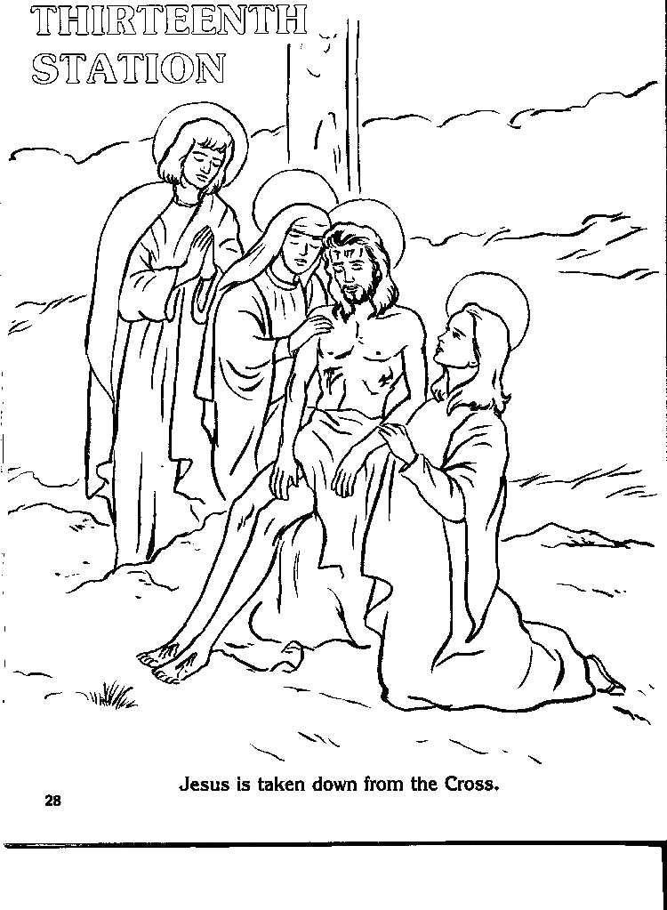 the best stations of the cross catholic printable