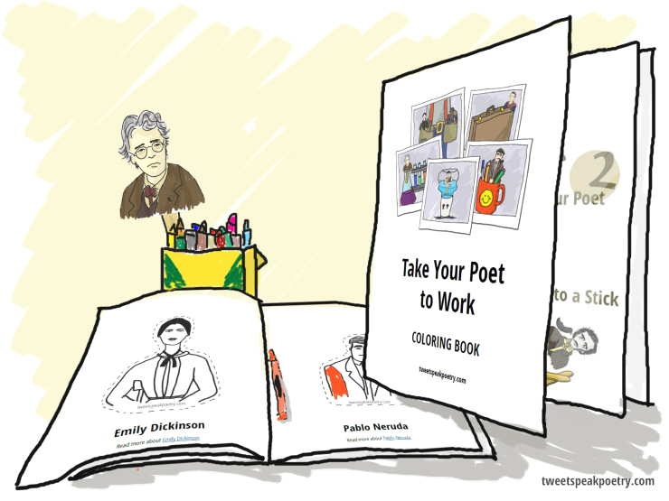 Take Your Child to Work Day Coloring Pages Take Your Poet to Work Day