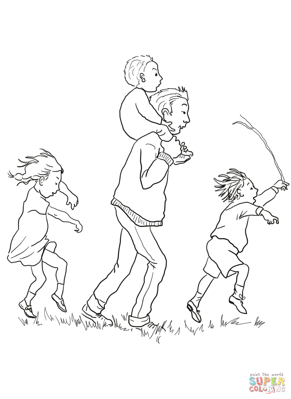 We Re Going On A Bear Hunt Coloring Pages We Re Going On A Bear Hunt