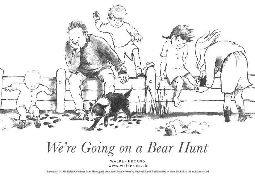 We Re Going On A Book Hunt Coloring Page We Re Going On A Bear Hunt Coloring Page A Fun Book to