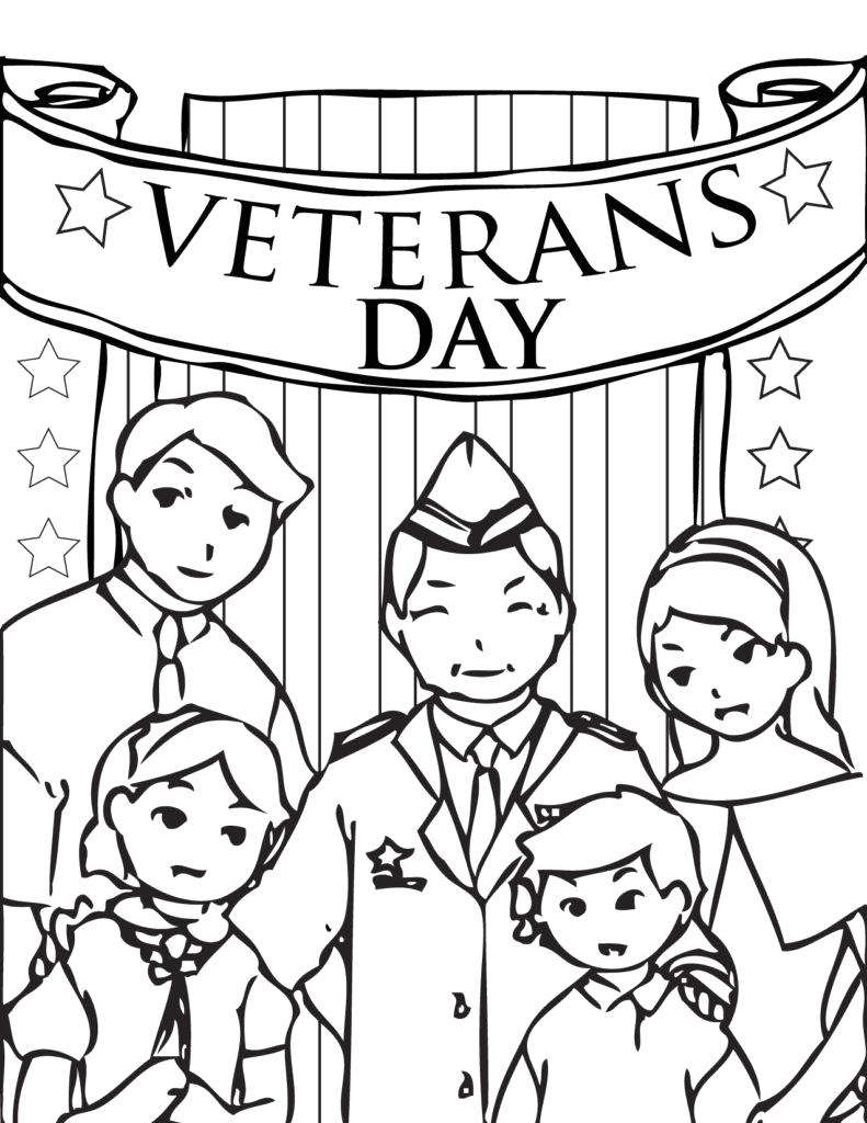 veterans day coloring pages holiday kids pedia veterans day coloring pages printable