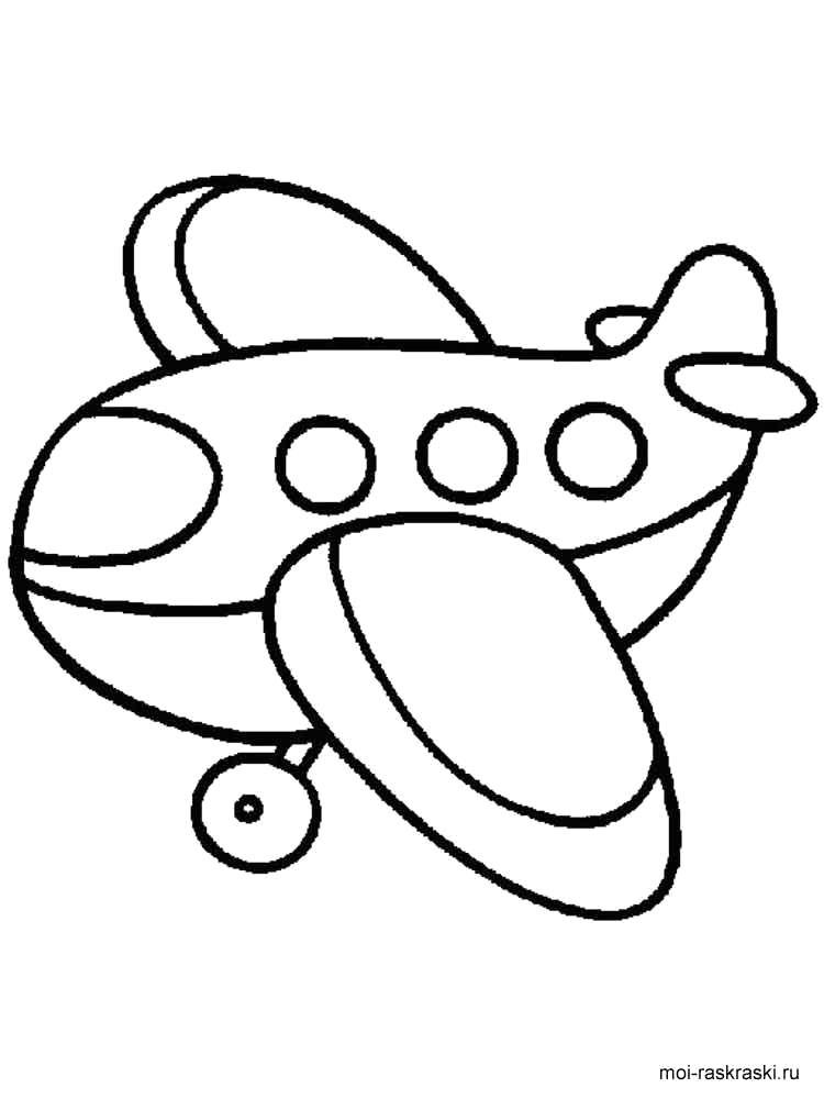 easy coloring pages for 2 year olds