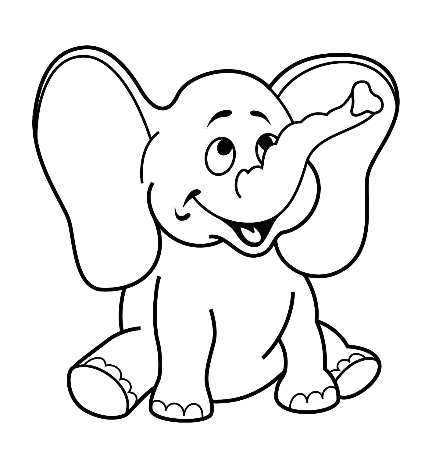 Free Coloring Pages for Two Year Olds Free Printable Coloring Pages for 2 Year Olds