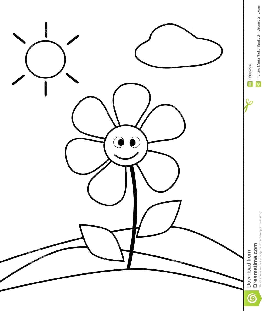 simple coloring pages for 2 year olds