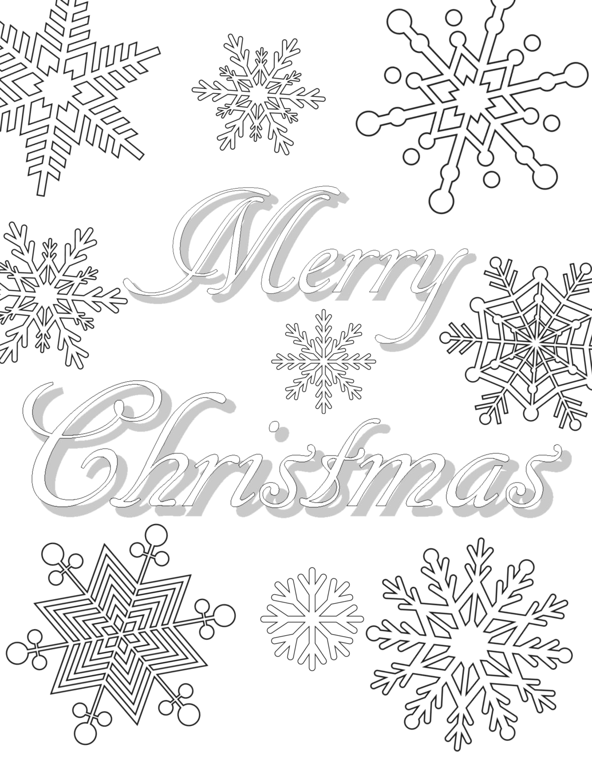 Free Online Coloring Pages for Adults Christmas Free Printable Christmas Coloring Pages for Adults