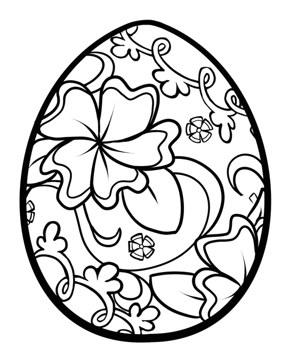 simple adult coloring pages