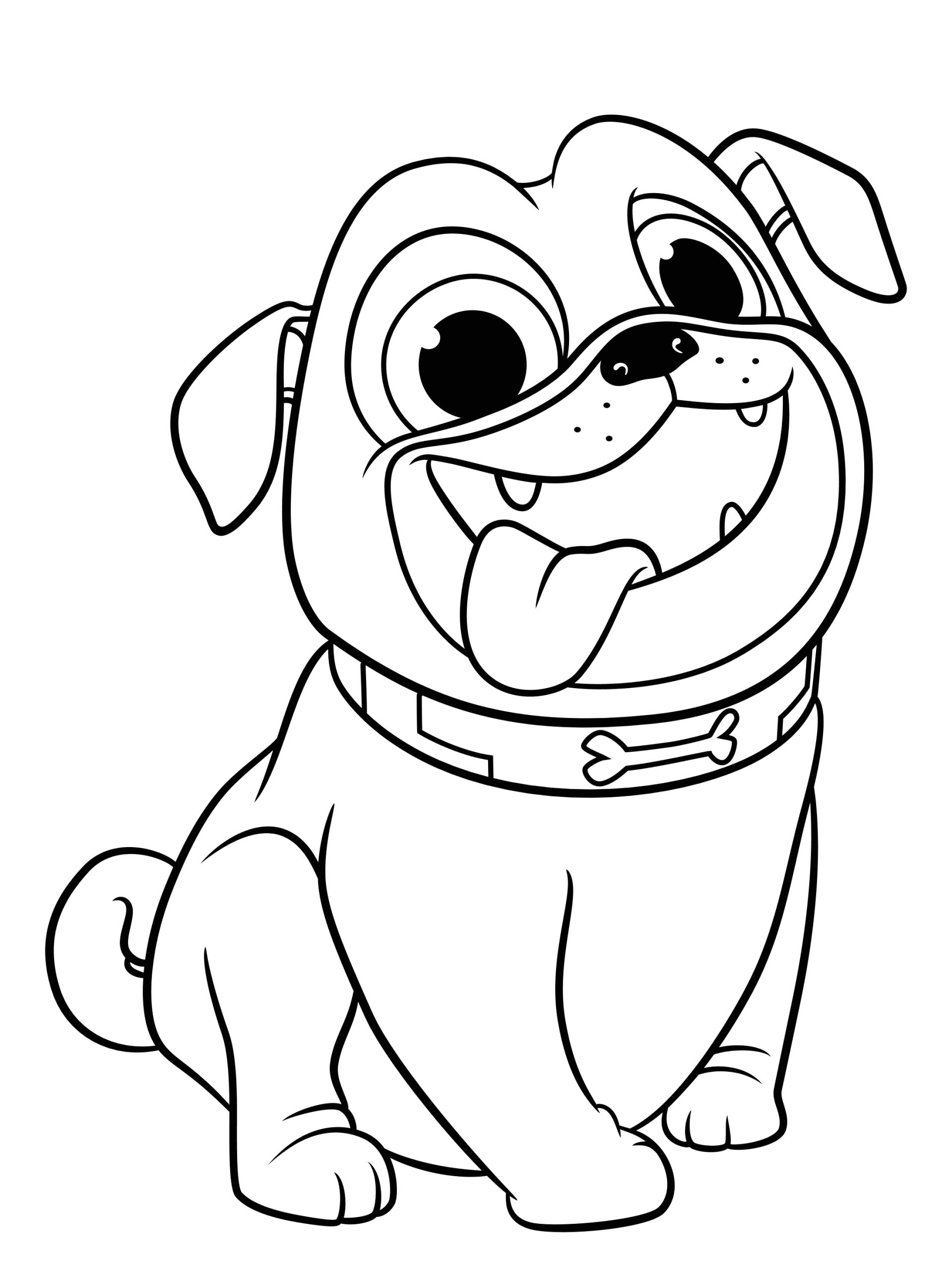 Free Printable Puppy Dog Pals Coloring Pages Puppy Dog Pals Coloring Pages to and Print for Free