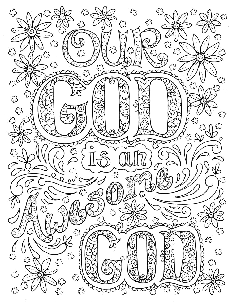 Free Printable Religious Coloring Pages for Adults Sunday School Printable