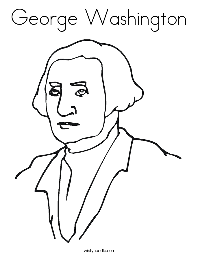 george washington cherry tree coloring page sketch templates