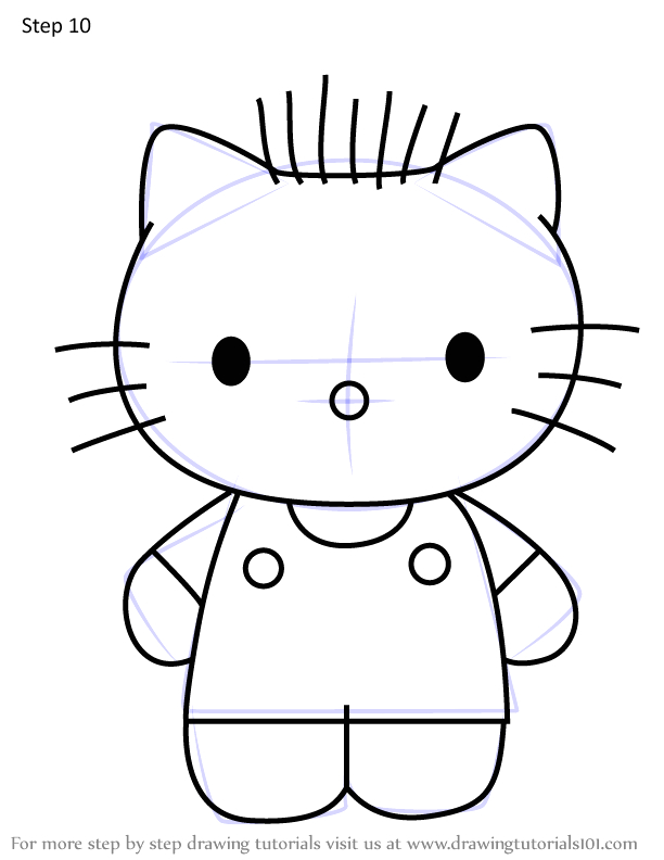 how to draw dear daniel from hello kitty