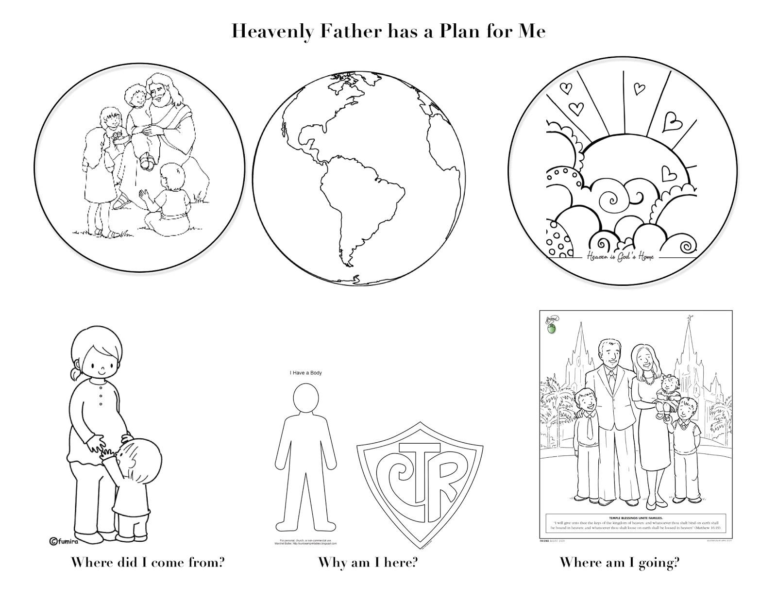 34 i am child of god coloring pages lds