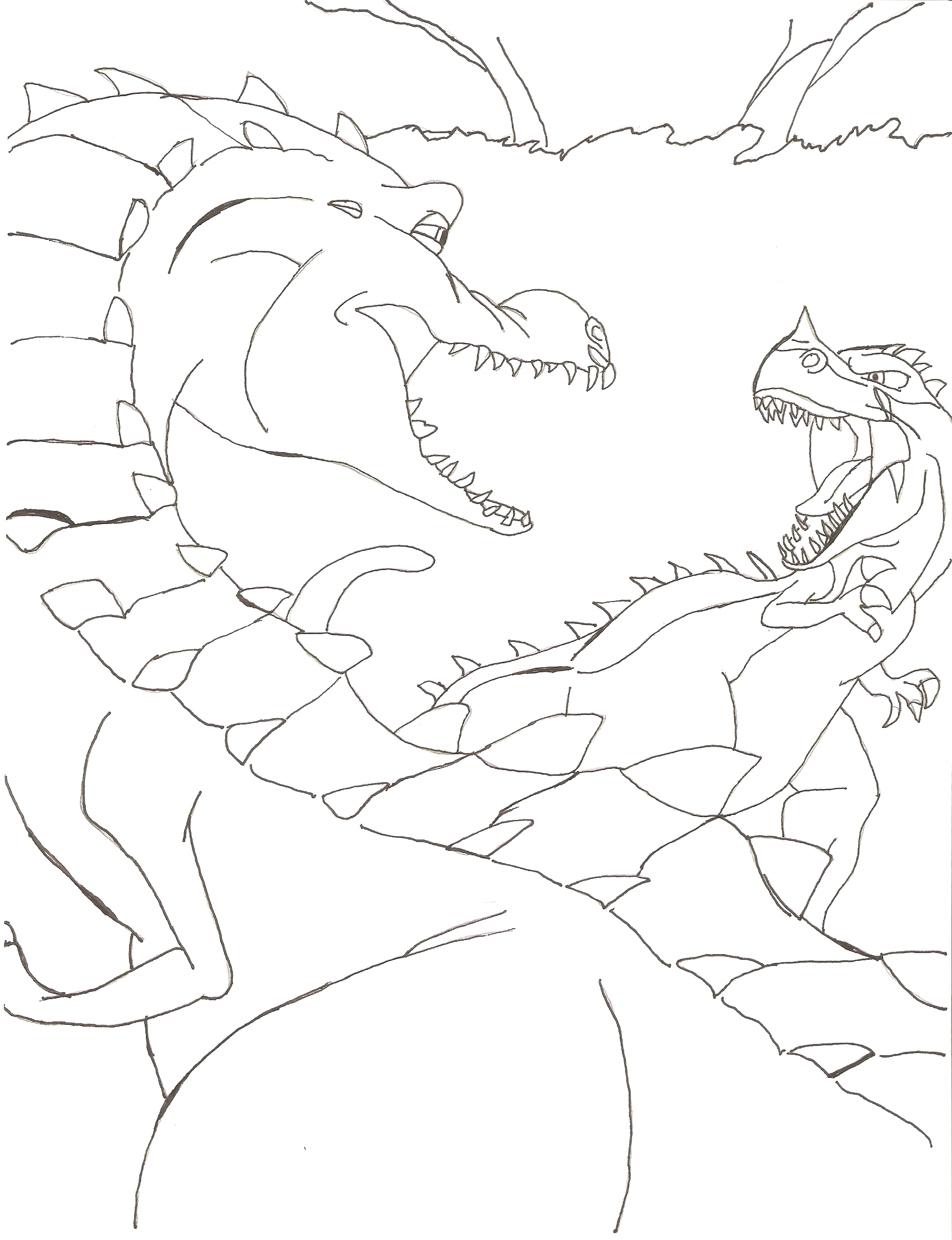 coloring pages ice age 3
