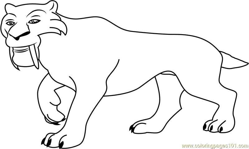 go walking coloring page