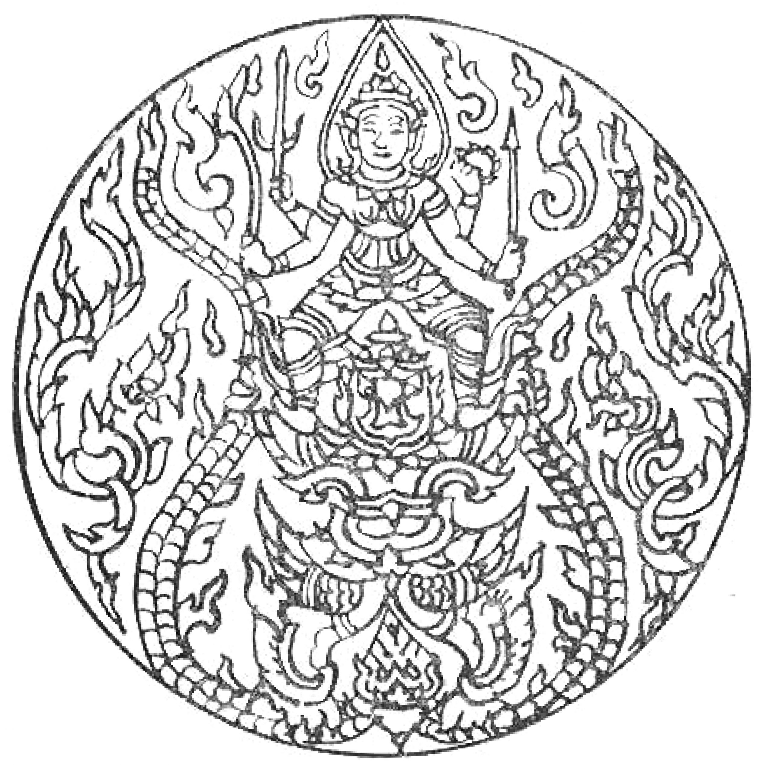 Mandala Coloring Pages to Print for Free Free Printable Mandala Coloring Pages for Adults Best