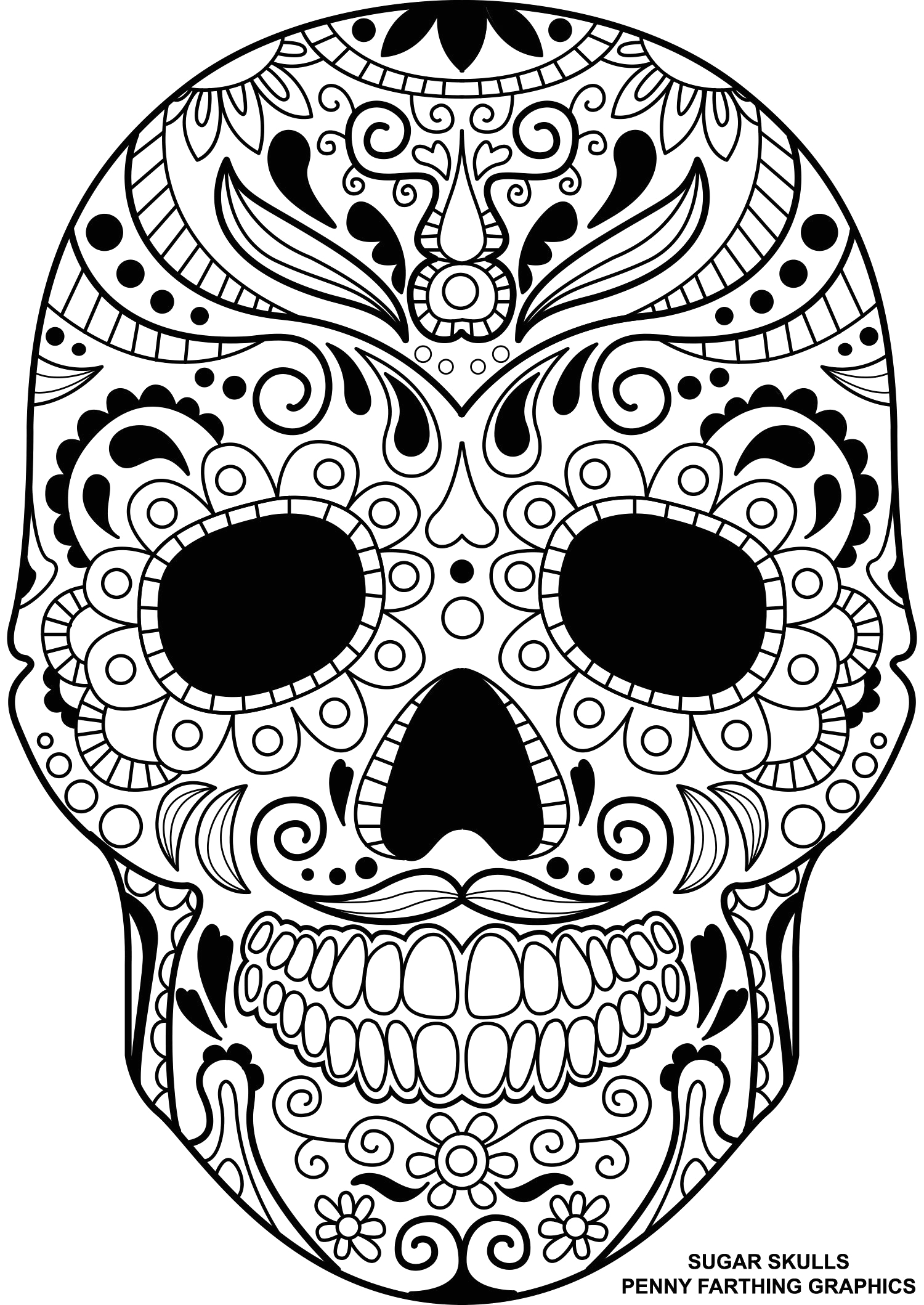 Mandala Day Of the Dead Coloring Pages Pin On Coloring Book Pages