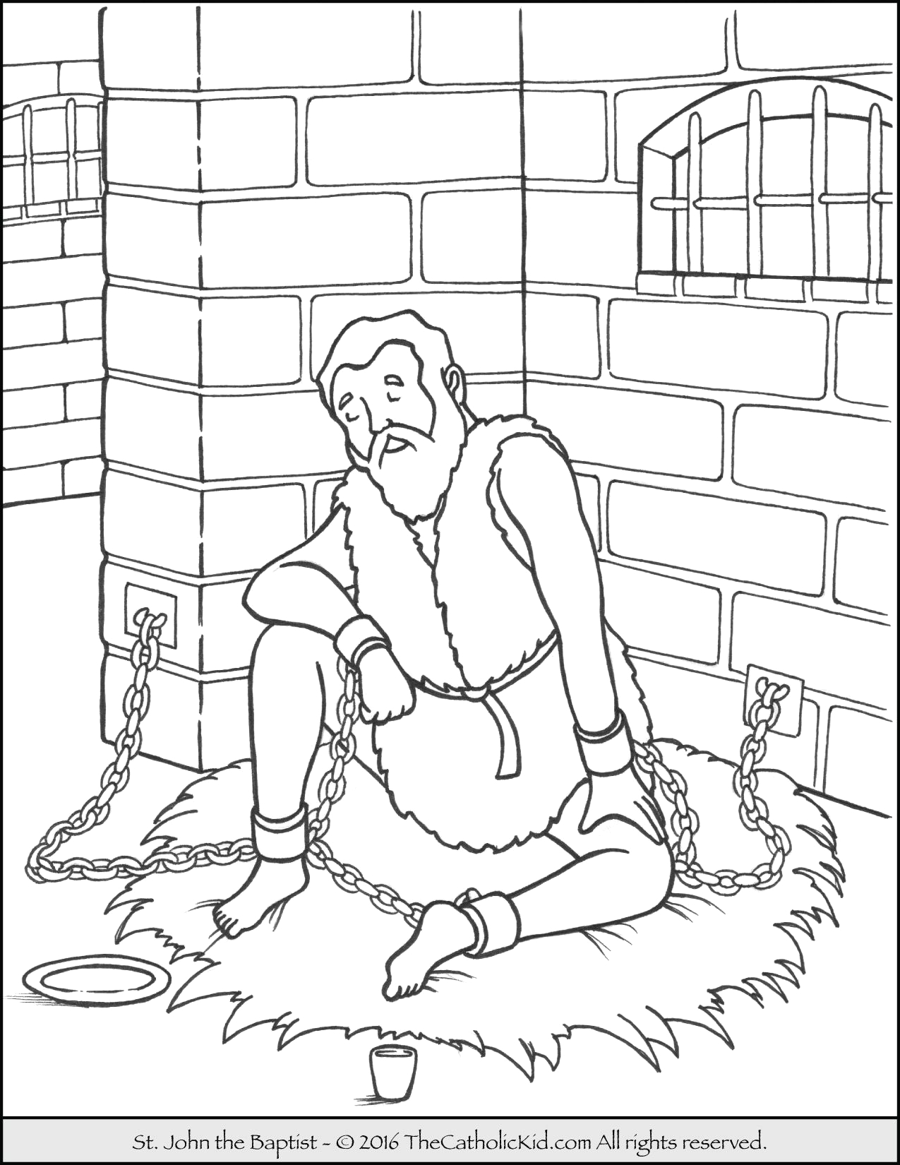 jail coloring pages