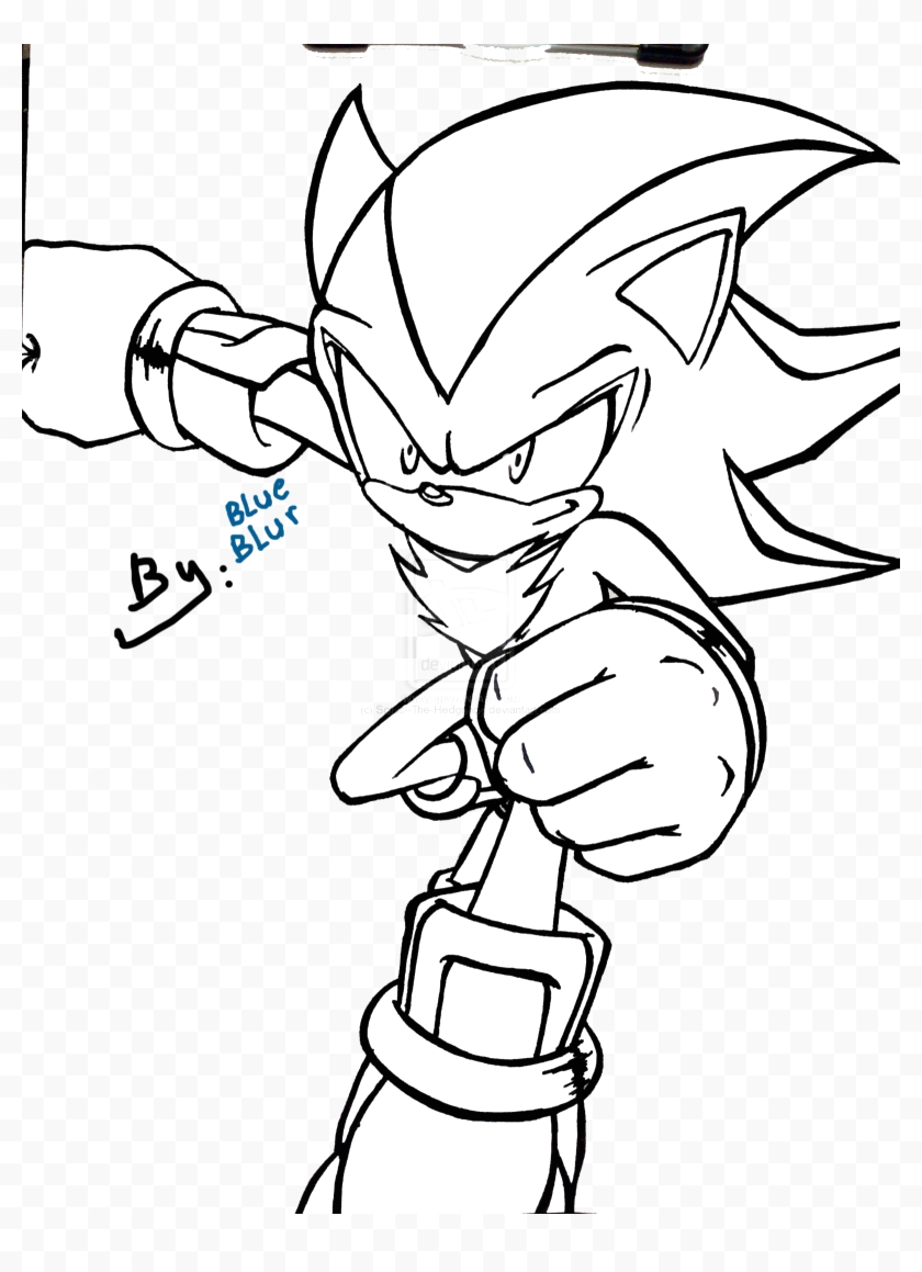 JTixih coloring pages super sonicring pages to print image