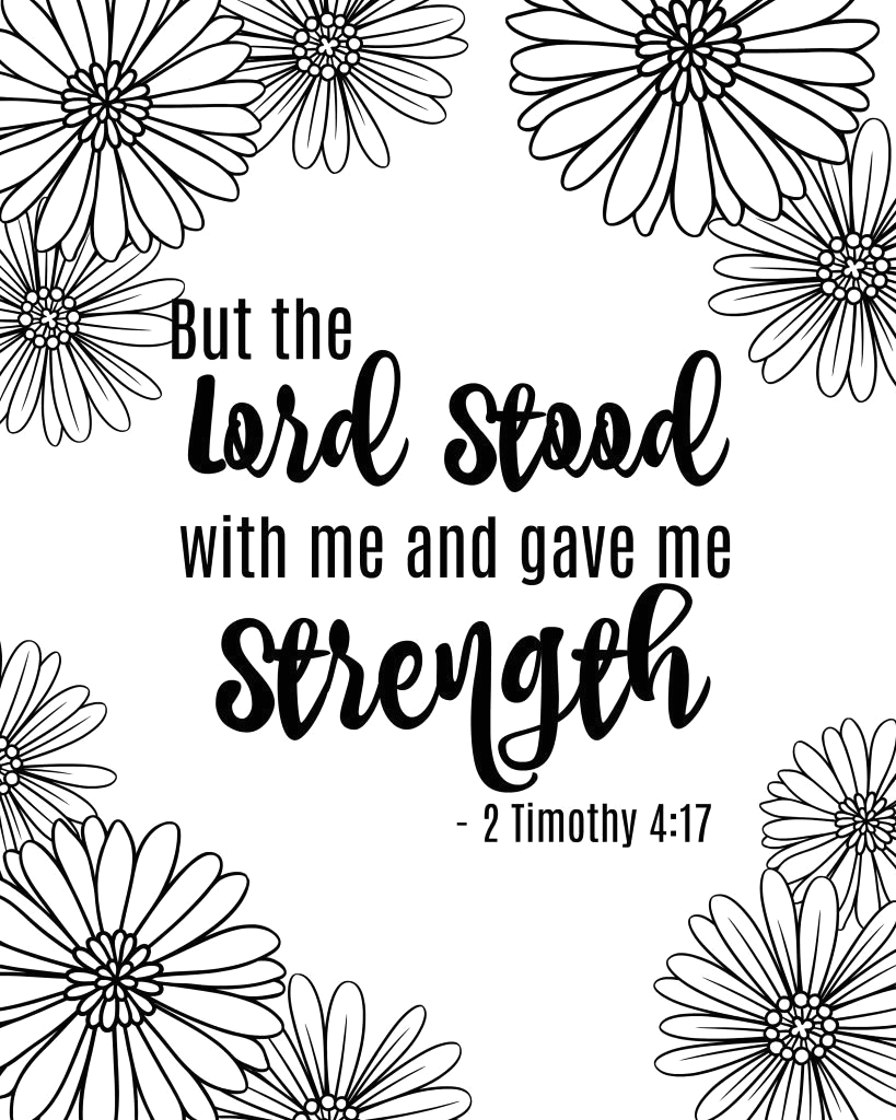 strong woman bible coloring pages for adults