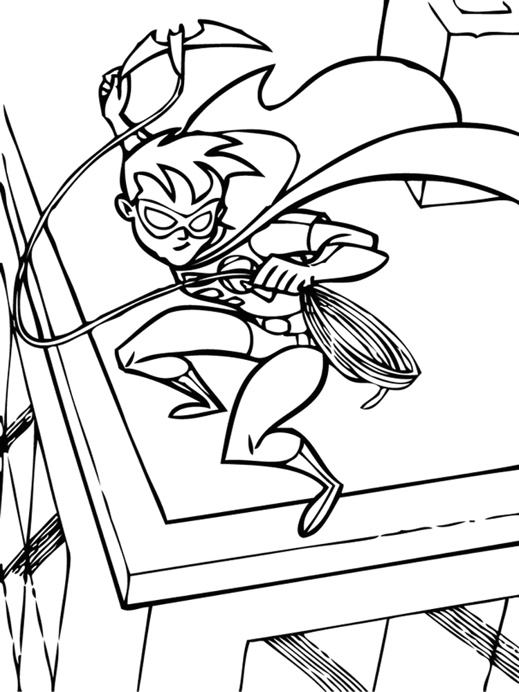 Batman and Robin Coloring Pages to Print Batman and Robin Coloring Pages Free Printable Batman and