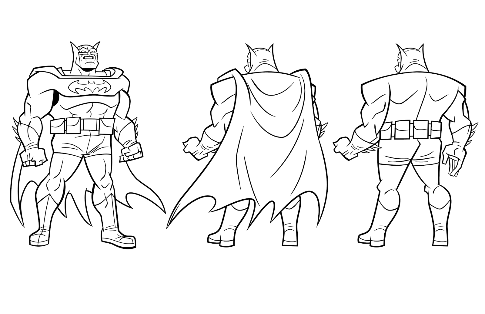 batman the brave and the bold coloring pages sketch templates