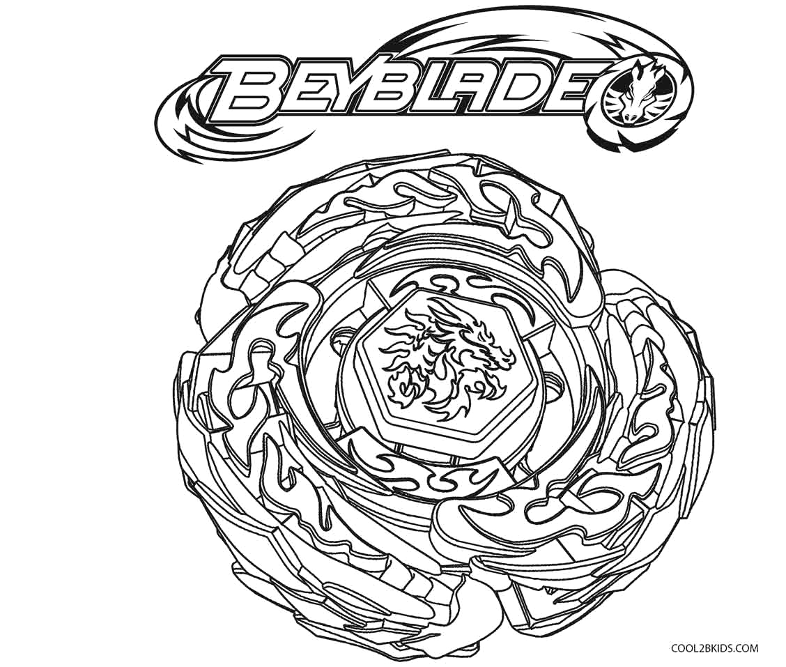 beyblade coloring pages